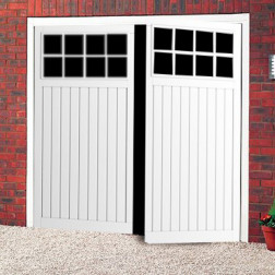Cardale Bedford Steel Side Hinged Garage Door
