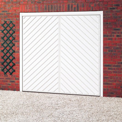 Cardale Chevron Up & Over Garage Door