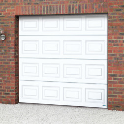 Novoferm ISO20 Georgian Panelled Sectional Garage Door
