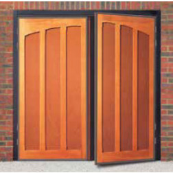 Cardale Heritage Rutland Timber Side Hinged Garage Door