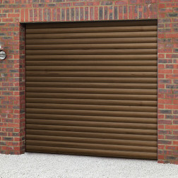 Cardale Thermaglide 77 Roller Garage Door (Woodgrain Laminated)