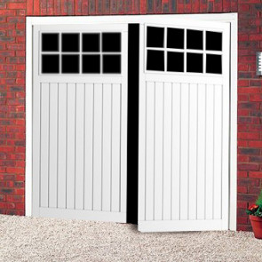 Cardale Bedford Steel Side Hinged Garage Door - Side Hinged - Garage ...