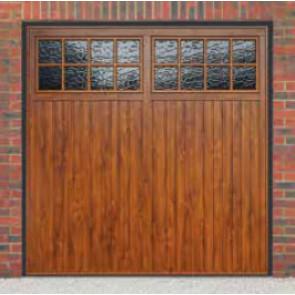 & Cardale Bedford Up \u0026 Over Garage Door Woodgrain   Garage Door Sale