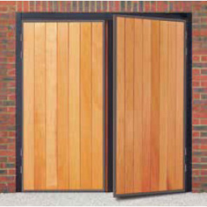 Futura Kent Timber Side Hinged Garage Door