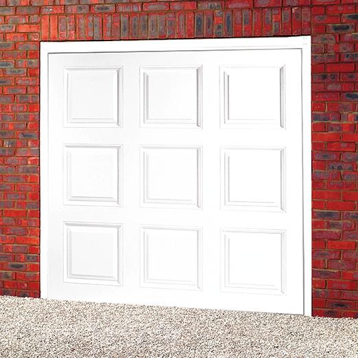 Cardale regal upvc up over garage door garage door sale for Upvc garage doors