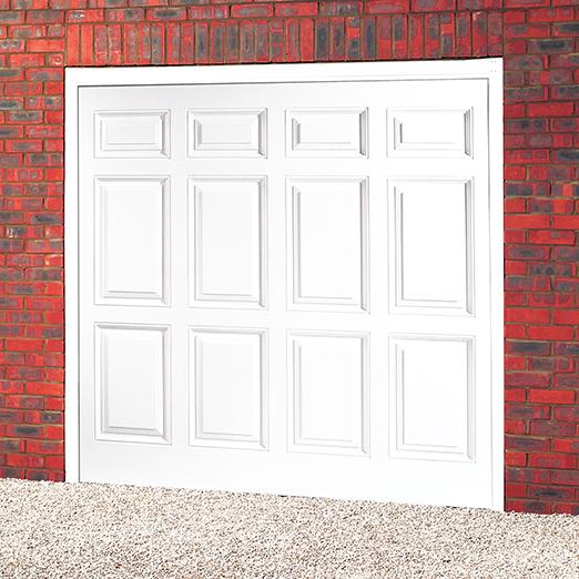 Cardale senator upvc up over garage door garage door sale for Upvc garage doors