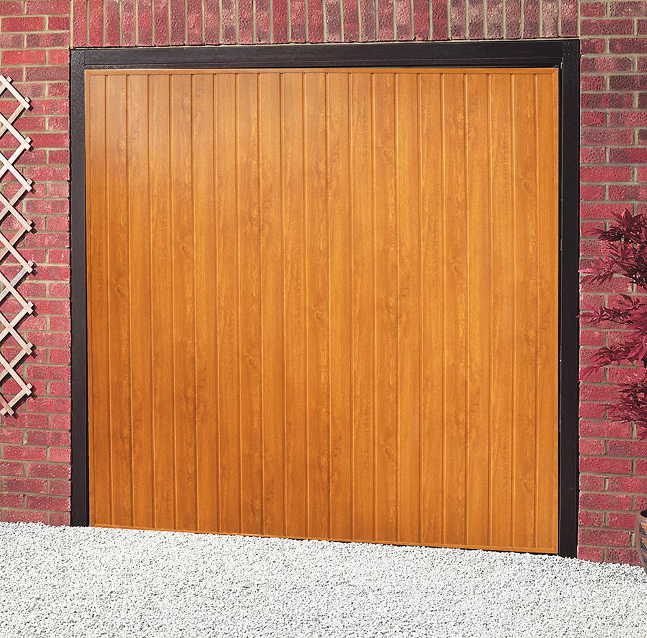Oak doors oak up and over garage doors for Upvc garage doors