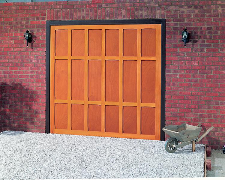 Cardale Heritage Cardinal Up Over Wooden Garage Door Up Over