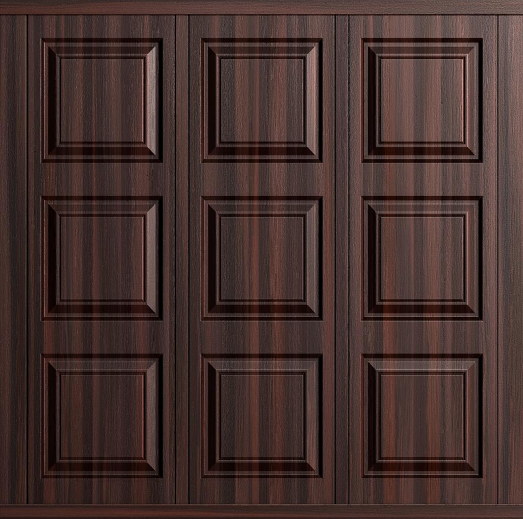 Cardale Georgian Steel Woodgrain Side Hinged Garage Door