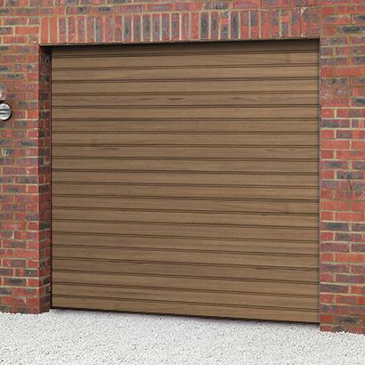 Cardale Steeline Mini Roller Garage Door Woodgrain Garage Door Sale