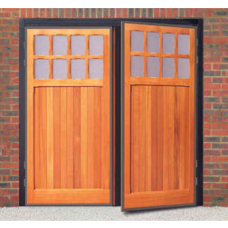 Futura Bedford Timber Side Hinged Garage Door