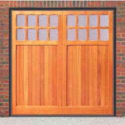 Cardale Futura Bedford Up & Over Wooden Garage Door