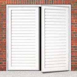 Cardale Berkeley Horizontal Steel Side Hinged Garage Door