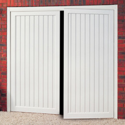 Cardale Berkeley Vertical Steel Side Hinged Garage Door