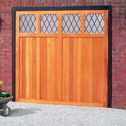 Cardale Futura Cotswold Up & Over Wooden Garage Door