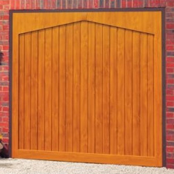 Cardale Gatcombe Up & Over Garage Door - Golden Oak or Rosewood