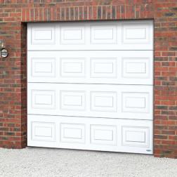 Novoferm ISO20/45 Insulated Sectional Door Panelled Woodgrain