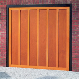 Cardale Heritage Countryman Up & Over Wooden Garage Door