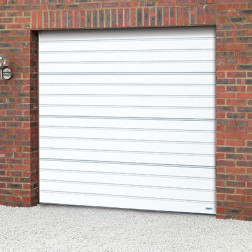 Novoferm ISO20/45 Horizontal Ribbed Sectional Garage Door - Under Construction Please Call 0800 404 8011 for a Quotation
