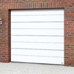 Novoferm ISO20 Large Ribbed Sectional Garage Door