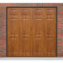 Cardale Sheraton II Up & Over Golden Oak Garage Door