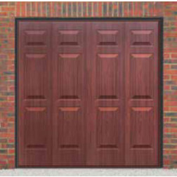 Cardale Sheraton II Up & Over Rosewood Garage Door (Woodgrain)