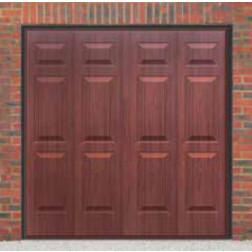 Cardale Sheraton II Up & Over Rosewood Garage Door