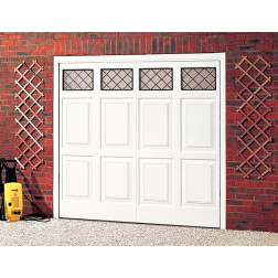 Cardale Sheraton II Glazed Up & Over Garage Door