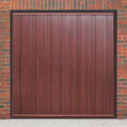 Cardale Vogue Up & Over Rosewood Garage Door (Woodgrain)