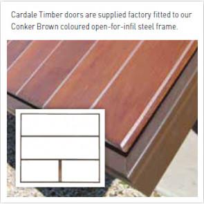 Timber infil design