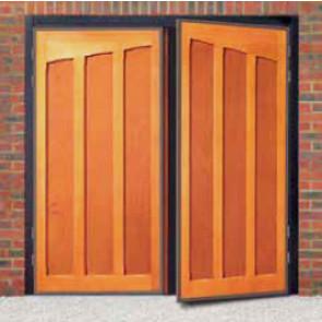Heritage Shakespeare Timber Side Hinged Garage Door